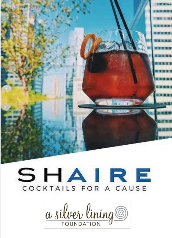 SHAIRE - Cocktails for a cause flyer 2016